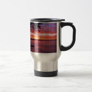 Santa Cruz, CA. Sunrise Travel Mug