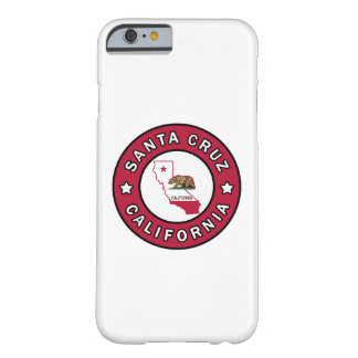 Santa Cruz California Barely There iPhone 6 Case