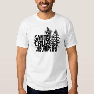 Santa Cruz California Big Trees T Shirt