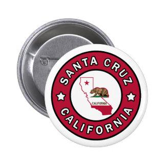 Santa Cruz California Button