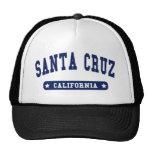 Santa Cruz California College Style tee shirts Hat
