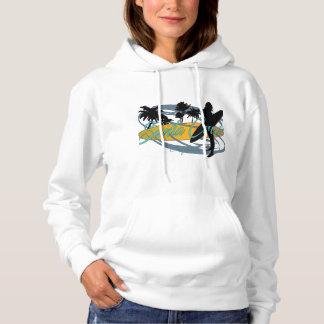Santa Cruz California Girl Surfer Hoodie
