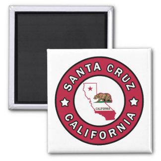 Santa Cruz California Imán Cuadrado