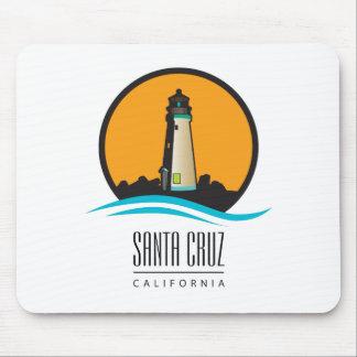 Santa Cruz California Lighthouse Mouse Pad