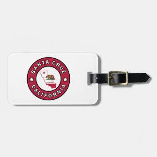 Santa Cruz California Luggage Tag