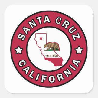 Santa Cruz California Square Sticker