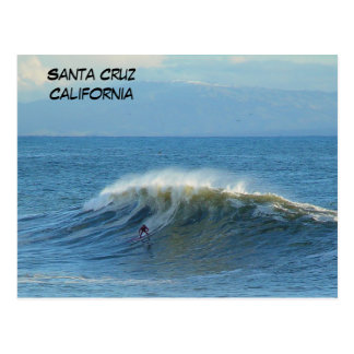 Santa Cruz, California Surfer - Postcard