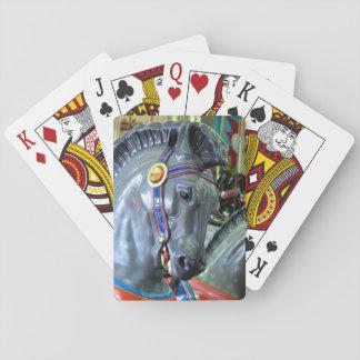 Santa Cruz Carousel Horse Playing Cards