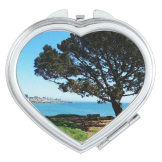 Santa Cruz Coastline Vanity Mirror