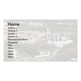 Santa Cruz da Lagoa Double-Sided Standard Business Cards (Pack Of 100)