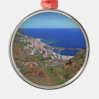 Santa Cruz de La Palma Canary Islands Spain Metal Ornament