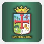 Santa Cruz de la Sierra Pegatina Cuadrada