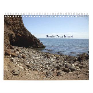 Santa Cruz Island Calendar