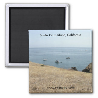 Santa Cruz Island, California Magnet