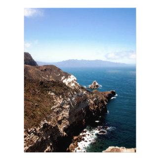 Santa Cruz Island Letterhead