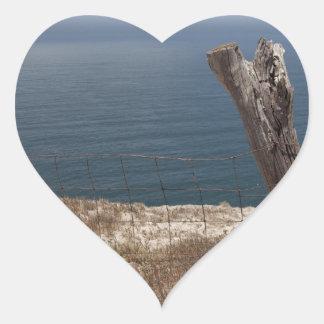 Santa Cruz Island Series 10 Heart Sticker