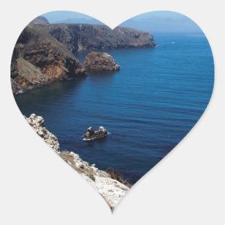 Santa Cruz Island Series 11 Heart Sticker