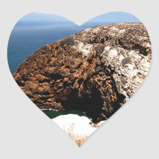 Santa Cruz Island Series 1 Heart Sticker