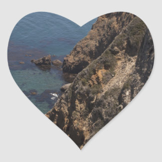Santa Cruz Island Series 4 Heart Sticker