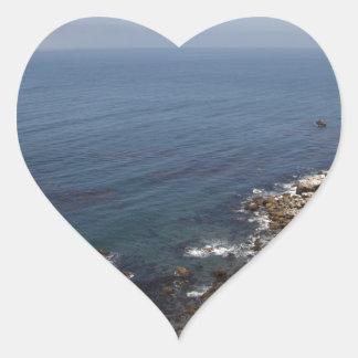 Santa Cruz Island Series 5 Heart Sticker