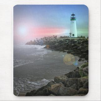 Santa Cruz Lighthouse Mouse Pad