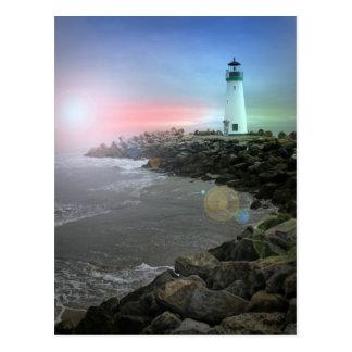 Santa Cruz Lighthouse Postcard