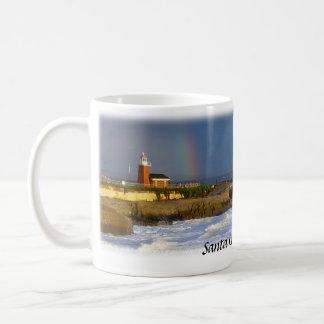 Santa Cruz Lighthouse Rainbow Mug
