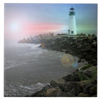 Santa Cruz Lighthouse Tile