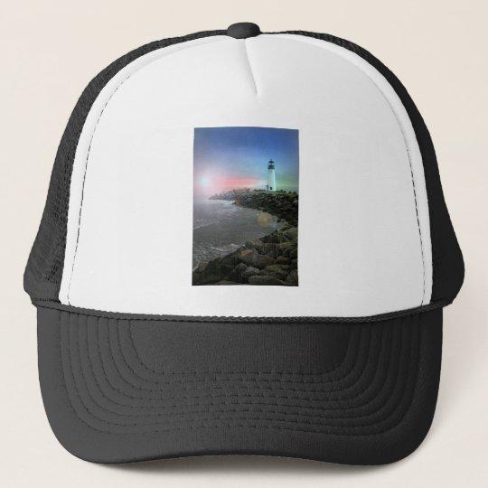 Santa Cruz Lighthouse Trucker Hat