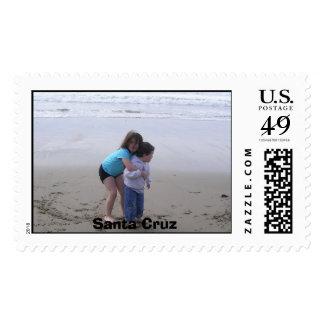 Santa Cruz Postage Stamp