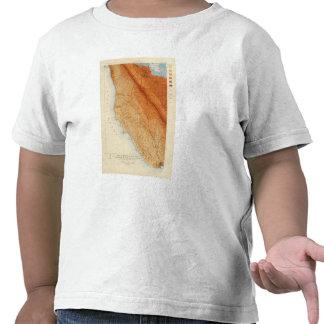 Santa Cruz quadrangle showing intensity, faults Shirts