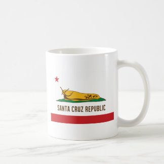 Santa Cruz Republic Banana Slug Flag Coffee Mug