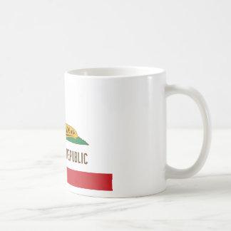 Santa Cruz Republic Banana Slug Flag Coffee Mug