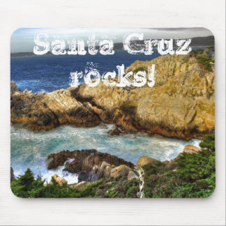 Santa Cruz Rocks! Mouse Pad