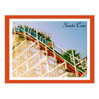 Santa Cruz Roller Coaster Postcard