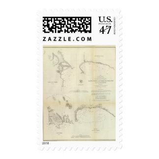 Santa Cruz, San Simeon, Coxo, San Luis Obispo Stamp