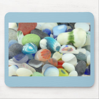 Santa Cruz Sea Glass Mouse Pad