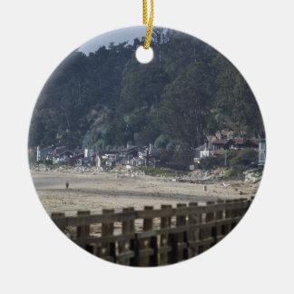 Santa Cruz, Seacliff Beach.jpg Adornos De Navidad