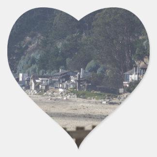 Santa Cruz, Seacliff Beach.jpg Heart Sticker