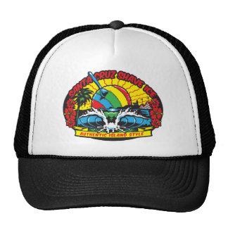 Santa Cruz Shave Ice Logo Trucker Hats