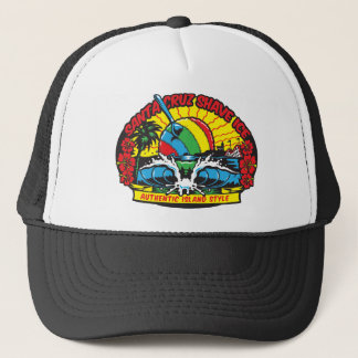 Santa Cruz Shave Ice Logo Trucker Hat