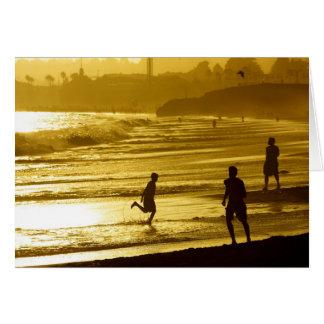 Santa Cruz Sunset Card