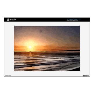 "Santa Cruz Sunset painting Skin For 13"" Laptop"