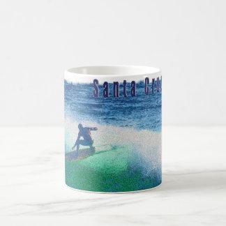 Santa Cruz surfer mug
