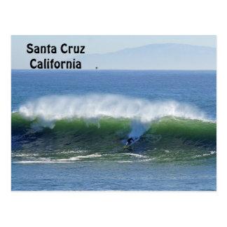 Santa Cruz Surfer Postcard
