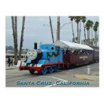 Santa Cruz Train Postcard