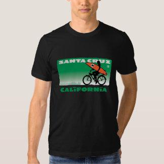 Santa Cruzing, verde de California Playera