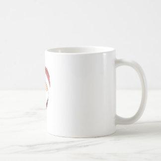 Santa cupcake coffee mug