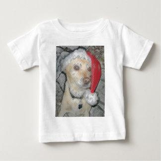 Santa Cutie Cartoon Baby T-Shirt