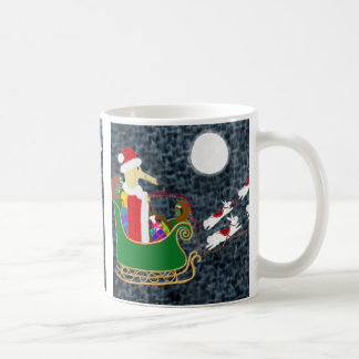 Santa Dachshund Mug